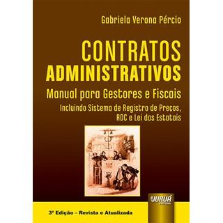 Livro - Contratos Administrativos - Pércio - Juruá