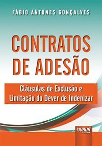 Livro Contratos de Adesao Goncalves Jurua