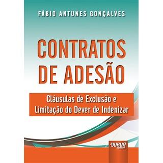 Livro Contratos de Adesão - Gonçalves - Juruá