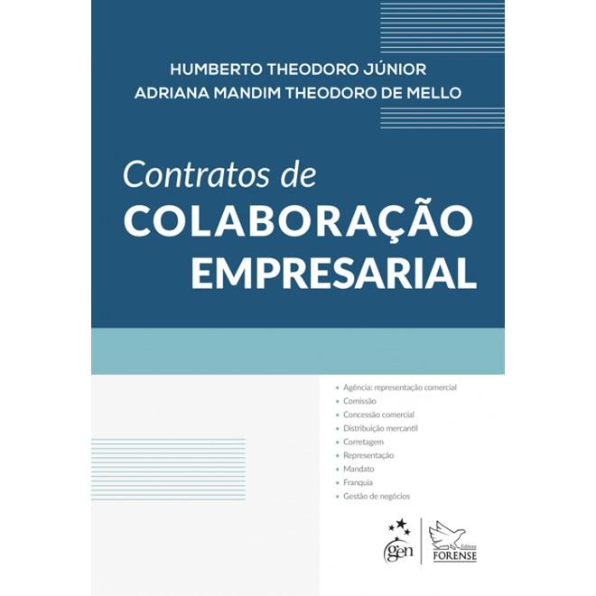 Livro - Contratos de Colaboração Empresarial - Theodoro Junior