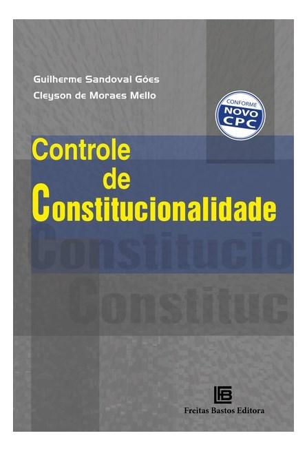 Livro - Controle de Constitucionalidade - Góes