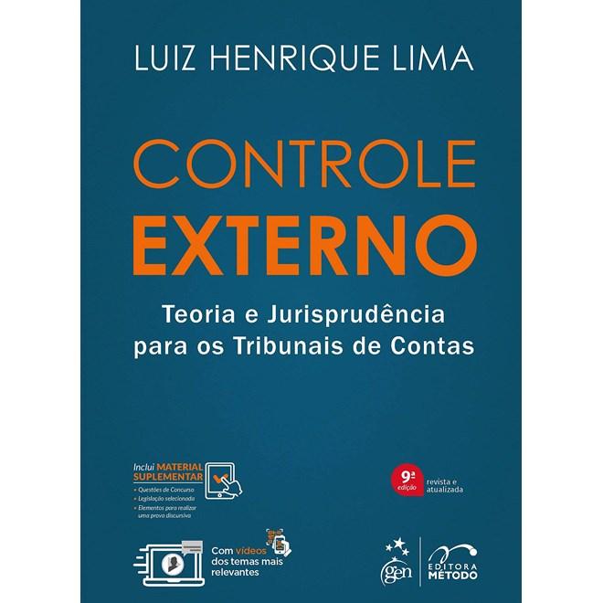 Livro - Controle Externo - Teoria e Jurisprudência para os Tribunais de Contas - Lima