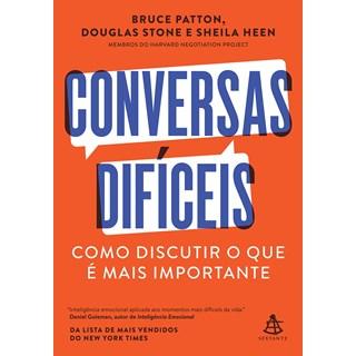 Livro Conversas Difíceis - Patton - Sextante - Pré-Venda