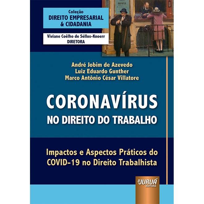 Livro Coronavírus no Direito do Trabalho - Azevedo - Juruá