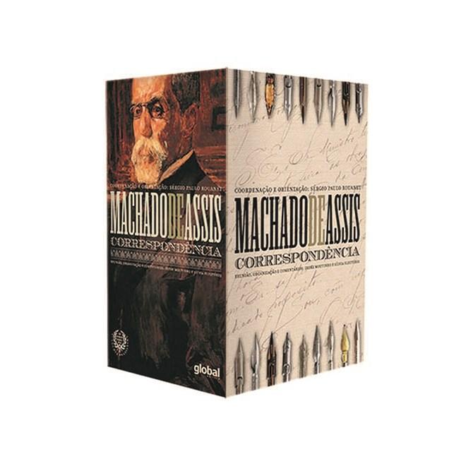 Livro - Correspondência de Machado de Assis Box - Assis - Global