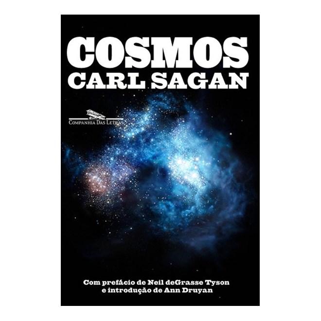 Livro - Cosmos - Carl Sagan - Cia das Letras