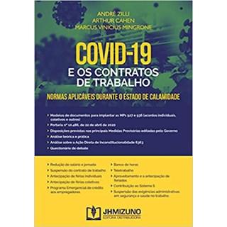 Livro - Covid-19 e os Contratos de Trabalho - Zilli - Jh Mizuno
