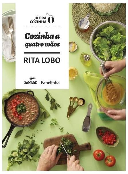 Livro - Cozinha A Quatro Mãos - Lobo