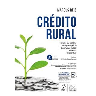 Livro Crédito Rural - Reis - Forense
