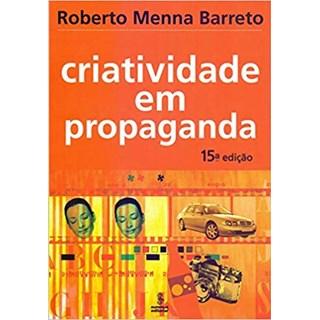 Livro - Criatividade Em Propaganda - Barreto - Summus