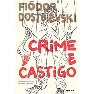 Livro Crime e Castigo - Dostoiévski - Todavia