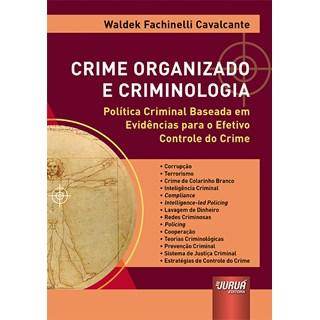 Livro - Crime Organizado e Criminologia - Cavalcante - Juruá