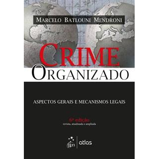 Livro - Crime Organizado - Mendroni