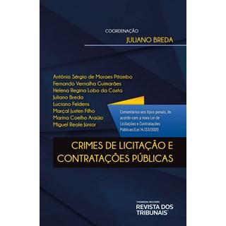 Livro Crimes de Licitação e Contratações Públicas - Breda - Revista dos Tribunais