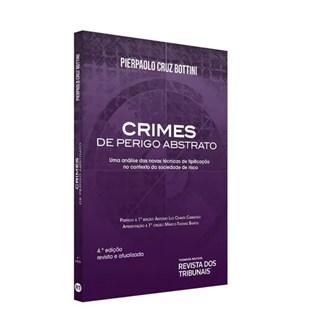 Livro - Crimes De Perigo Abstrato - Bottini