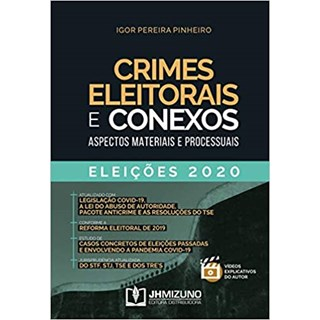 Livro - Crimes Eleitorais e Conexos - Pinheiro - Jh Mizuno