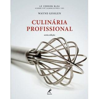 Livro - Culinária Profissional - Gisslen