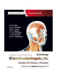Livro Cummings Otorrinolaringologia Cirurgia de Cabeca e Pescoco -