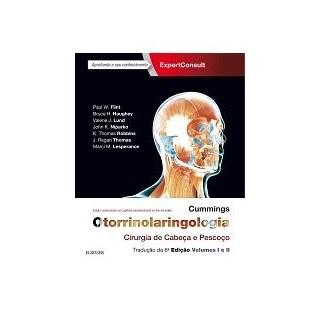 Livro - Cummings Otorrinolaringologia - Cirurgia de Cabeça e Pescoço - Flint
