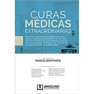 Livro - Curas Médicas Extraordinárias - Bontempo