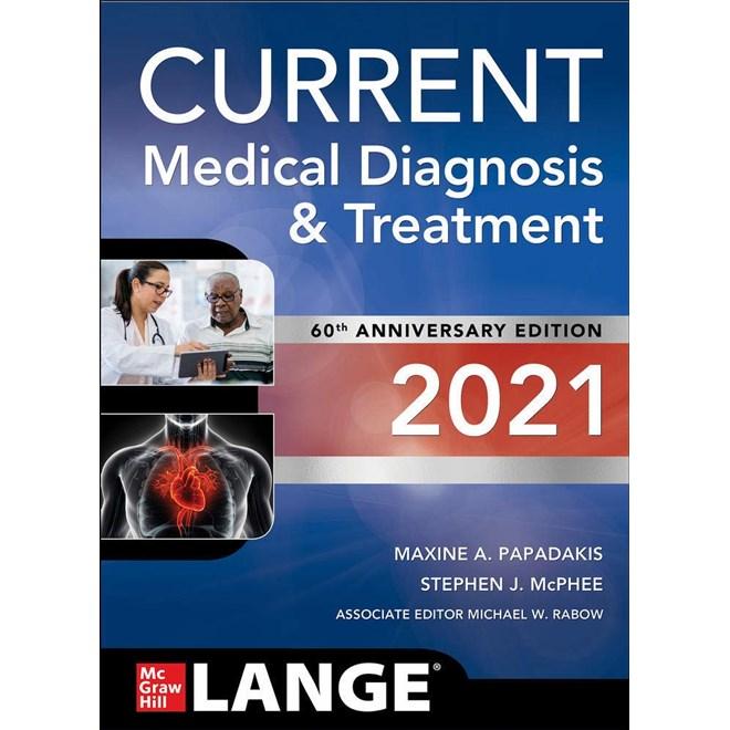 Livro - Current Medical Diagnosis and Treatment 2020 CMDT - McPhee 59ª edição