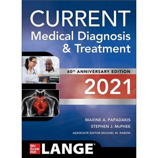 Livro CURRENT Medical Diagnosis and Treatment 2021 - Papadakis - McGraw