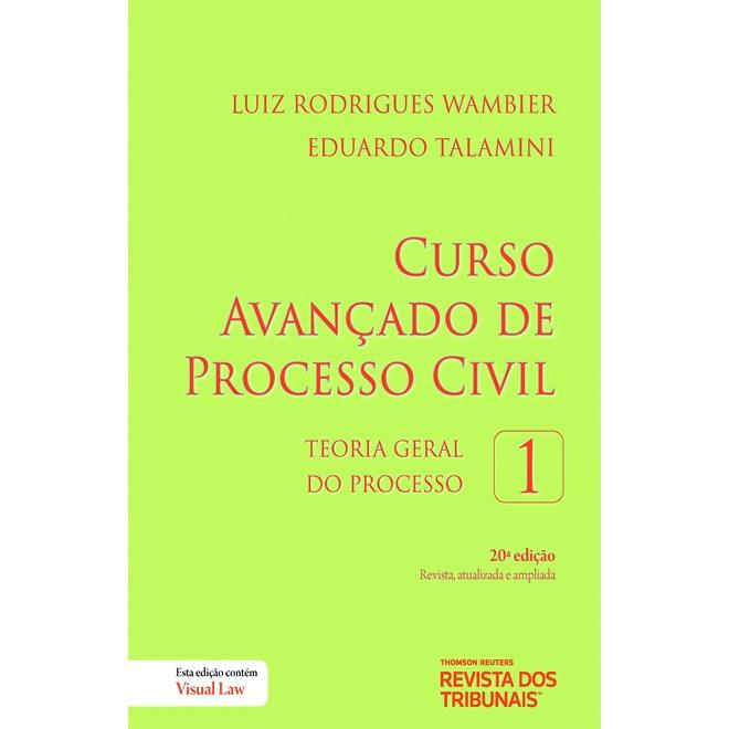 Livro - Curso Avançado de Processo Civil Volume 1 - Wambier