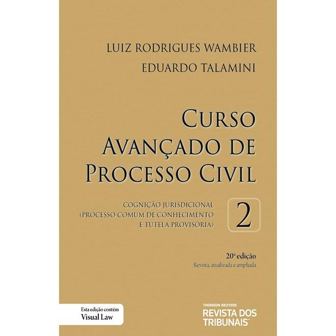 Livro - Curso Avançado de Processo Civil Volume 2 - Wambier