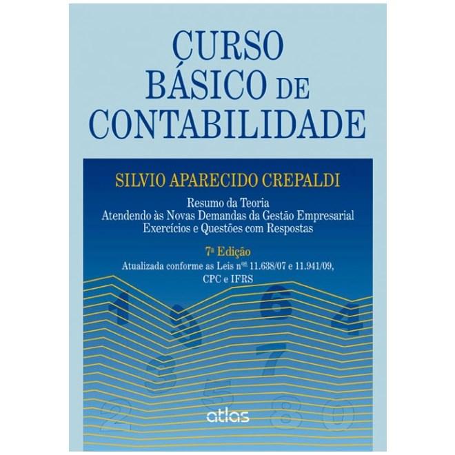 Livro - Curso Básico de Contabilidade: Gestão Empresarial, Exercícios e Questões com Respostas - Crepaldi