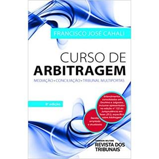 Livro - Curso de Arbitragem - Cahali - Revista dos Tribunais