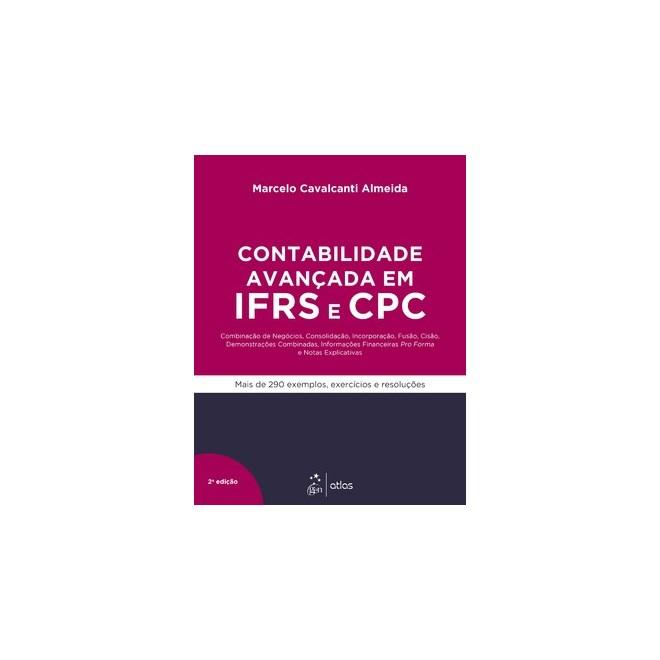 Livro - Curso de Contabilidade Avançada em IFRS e CPC - Almeida