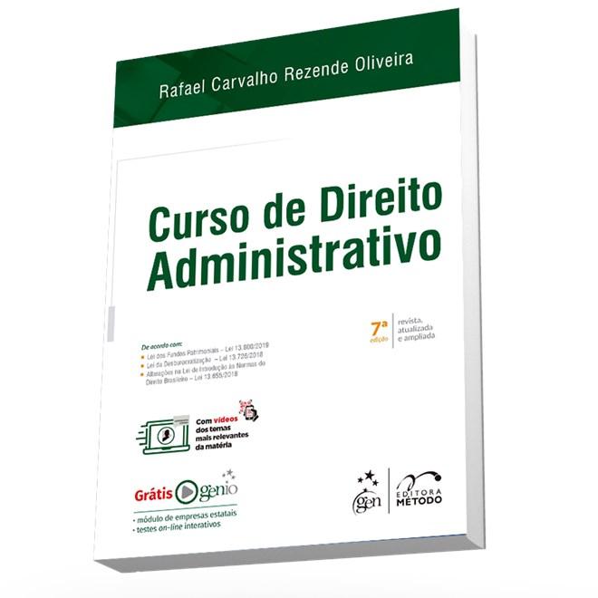 Livro - Curso de Direito Administrativo - Oliveira