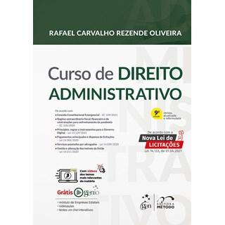 Livro - Curso de Direito Administrativo - OLIVEIRA 8º edição