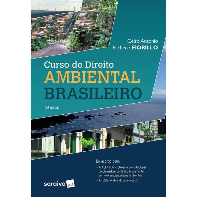 Livro - Curso de Direito Ambiental Brasileiro - Fiorillo