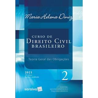 Livro Curso de Direito Civil Brasileiro Vol. 2 - 2021 - Saraiva