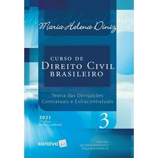 Livro Curso de Direito Civil Brasileiro Vol. 3 - 2021 - Saraiva