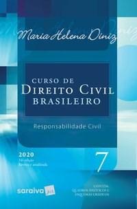 Livro Curso de Direito Civil Brasileiro Vol. 7 34ª Edicao 2020 -