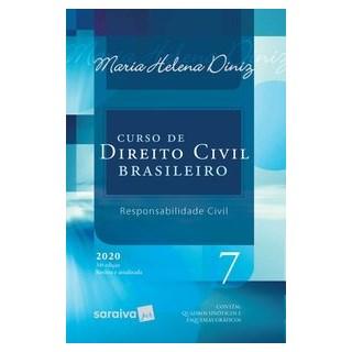 Livro - Curso de Direito Civil Brasileiro - Vol. 7 - 34ª Edição 2020 - Diniz 34º edição