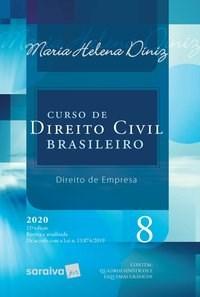 Livro Curso de Direito Civil Brasileiro Vol. 8 12ª Edicao 2020 -