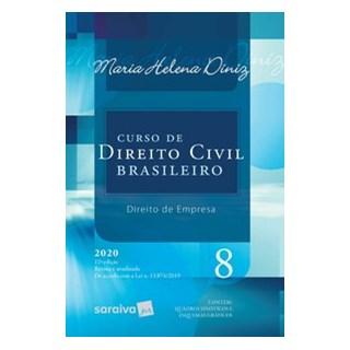 Livro - Curso de Direito Civil Brasileiro - Vol. 8 - 12ª Edição 2020 - Diniz 12º edição