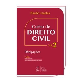 Livro - Curso de Direito Civil - Vol. 2 - Obrigações - Nader
