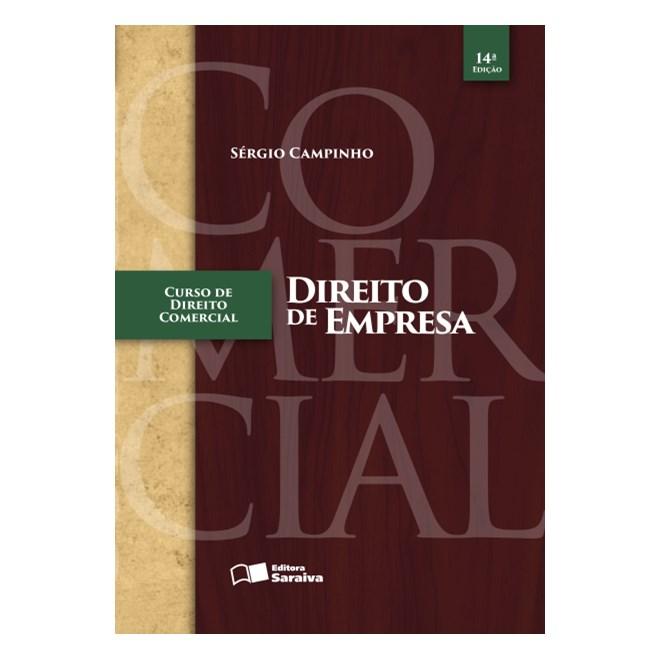 Livro - Curso de Direito Comercial - Direito de Empresa - Campinho