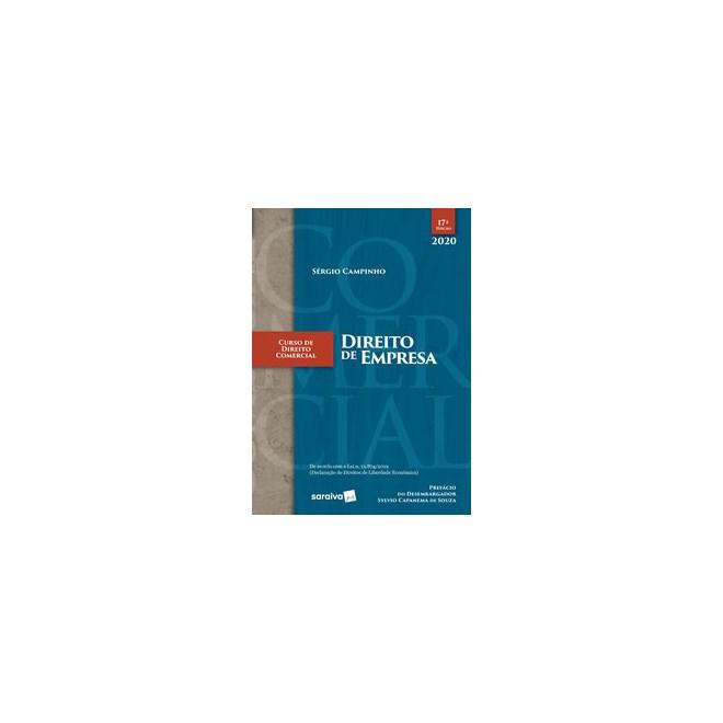 Livro - Curso de Direito Comercial - Direito de Empresa - Campinho 17º edição