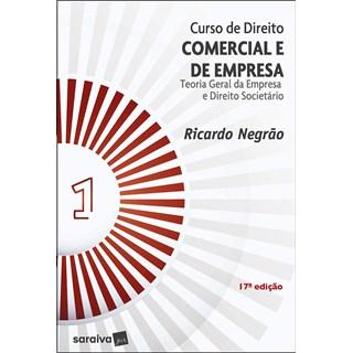 Livro Curso de Direito Comercial e de Empresa - Vol.1 - Negrão - Saraiva