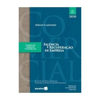 Livro - Curso de Direito Comercial - Falência e Recuperação de Empresa - Campinho 11º edição