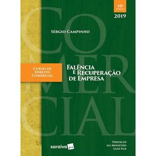 Livro - Curso De Direito Comercial Falencia E Recuperacao De Empresa - Campinho