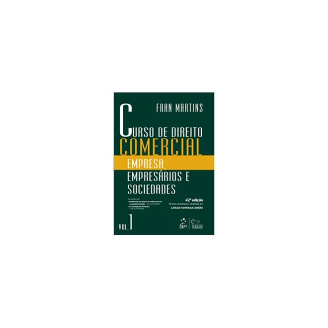 Livro - Curso de Direito Comercial - Martins