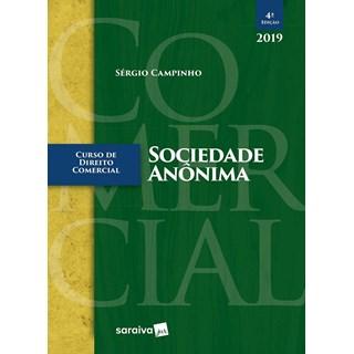 LIVRO - CURSO DE DIREITO COMERCIAL  SOCIEDADE ANONIMA - SARAIVA - CAMPINHO