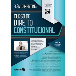 Livro Curso de Direito Constitucional - 5ª Ed. 2021 - Martins - Saraiva
