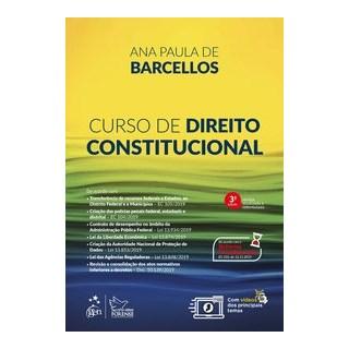 Livro - Curso de Direito Constitucional - BARCELLOS 3º edição